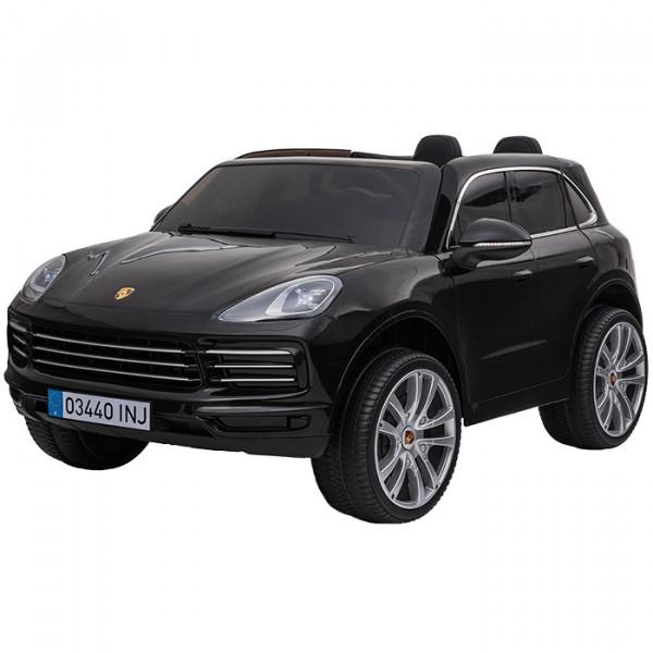 Aziamor Auto Elettrica 12V Porsche Cayenne colore Nero
