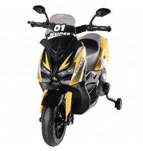 Aziamor Moto Elettrica Roadstar 12V colore Giallo