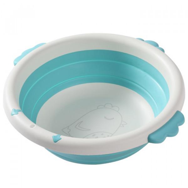 Aziamor Mini Biasin Lavabo Portatile Per Igiene Bambini Azzurro
