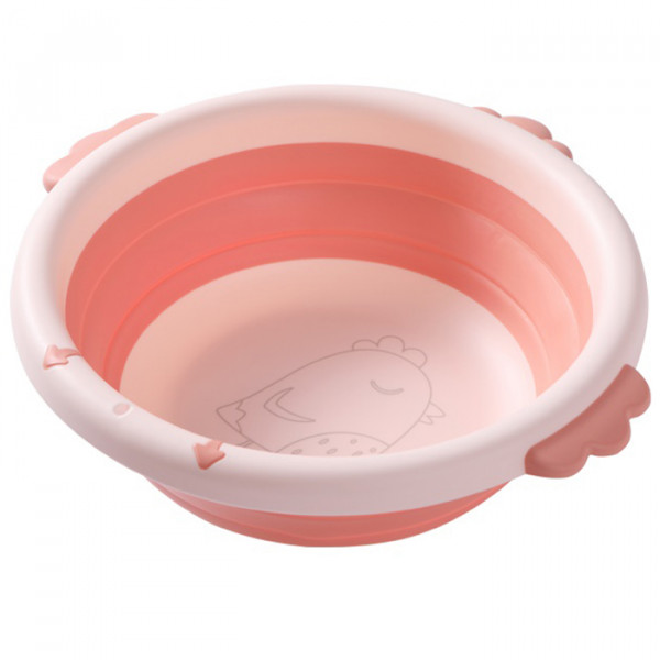 Aziamor Mini Biasin Lavabo Portatile Per Igiene Bambini Rosa